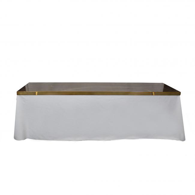 Amazing 8X30 Brushed Gold Table Lid Newport Tent Company Pabps2019 Chair Design Images Pabps2019Com